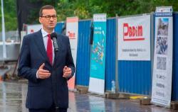 Premier Morawiecki: rząd sfinansuje budowę węzła trasy S14 na łódzkim Teofilowie