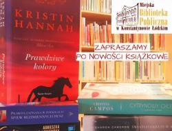 Nowości książkowe w bibliotece dla dorosłych