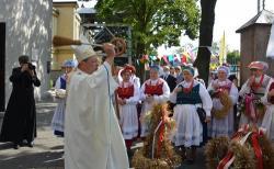Konstantynowscy rolnicy podziękowali za tegoroczne zbiory zbóż, warzyw, owoców i miodów