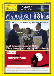 """Wiadomości - 43bis"" nr 725/726"