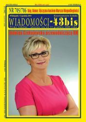 """Wiadomości - 43bis"" nr 705/706"