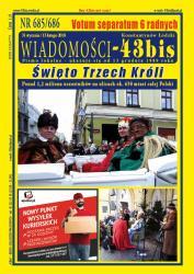 """Wiadomości - 43bis"" nr 685/686"