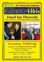 """Wiadomości - 43bis"" nr 711/712"