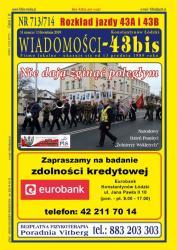 """Wiadomości - 43bis"" nr 713/714"
