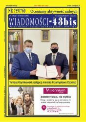 """Wiadomości - 43bis"" nr 759/760"