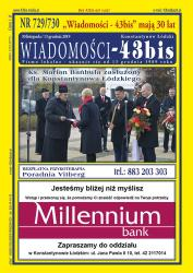 """Wiadomości - 43bis"" nr 729/730"