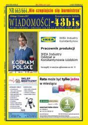 """Wiadomości - 43bis"" nr 663/664"