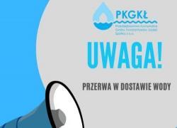 W środę (28.10.2020) MOŻE nastąpić spadek ciśnienia lub przerwa w dostawie wody
