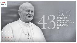43 lata temu kard. Karol Wojtyła został wybrany na papieża