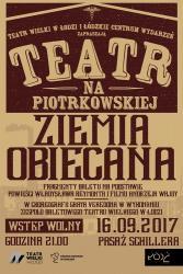 Spektakl plenerowy w Łodzi