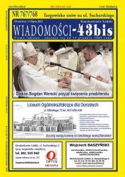 """Wiadomości - 43bis"" nr 767/768"