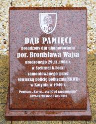Por. Bronisław Wajs uhonorowany