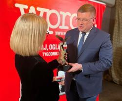ORZEŁ WPROST dla wiceministra dr. Tomasza Rzymkowskiego