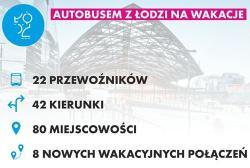 Autobusem z Łodzi na wakacje