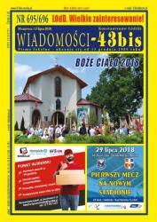 """Wiadomości - 43bis"" nr 695/696"
