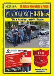 """Wiadomości - 43bis"" nr 693/694"