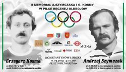 II Memoriał Andrzeja Szymczaka i Grzegorza Kosmy