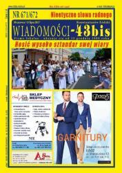 """Wiadomości - 43bis"" nr 671/672"