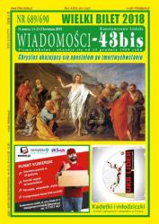 """Wiadomości - 43bis"" nr 689/690"