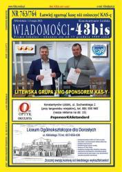 """Wiadomości - 43bis"" nr 763/764"