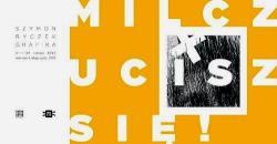 Wernisaż wystawy prac graficznych Szymona Ryczka