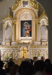 Poszukujemy dokumentów historii obrazu Najświętszej Maryi Panny w kościele w Srebrnej