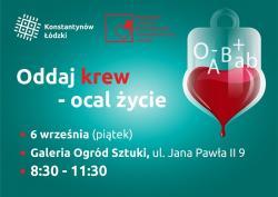 Oddaj krew