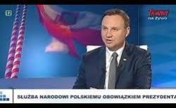 Prezydent RP Andrzej Duda w TV Trwam i Radio Maryja