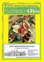 """Wiadomości - 43bis"" nr 761/762"