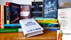 Ponad 1000 zł na zakup książek i gier matematycznych