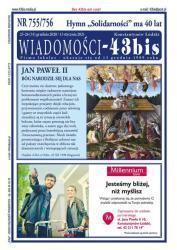 """Wiadomości - 43bis"" nr 755/756"