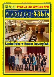 NR 613/614 WIADOMOŚCI - 43bis