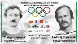 I Memoriał Andrzeja Szymczaka i Grzegorza Kosmy