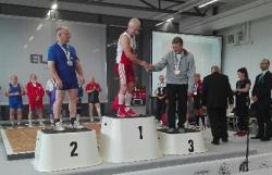 Piotr Kowalewski w blasku złota