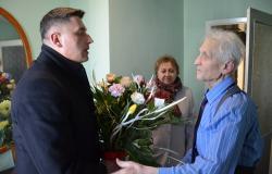 Bogumił Pychyński ma 90 lat