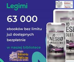 Mobilna biblioteka LEGIMI już w MBP