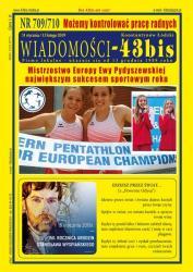"""Wiadomości - 43bis"" nr 709/710"