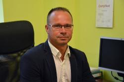 Komendant Straży Miejskiej Waldemar Stegliński