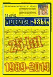 NR 611/612 WIADOMOŚCI - 43bis