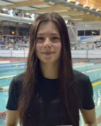 Czwarty medal UKS Piątka w MP w pływaniu! Srebro Kariny Łysakowskiej na 50 m st. mot.
