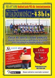 """Wiadomości - 43bis"" nr 697/698"