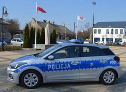 Nowy radiowóz dla Policji