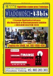 """Wiadomości - 43bis"" nr 717/718"