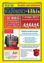 """Wiadomości - 43bis"" nr 667/668"