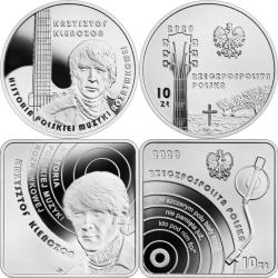 Monety upamiętniają Krzysztofa Klenczona i przypominają jego legendarny BIAŁY KRZYŻ