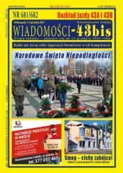 """Wiadomości - 43bis"" nr 681/682"