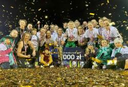 Piłkarki KKS Włókniarz wygrały wojewódzki finał Pucharu Polski