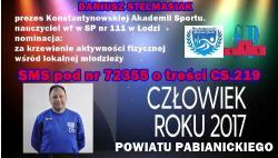 Dariusz Stelmasiak ma szansę na awans!