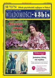 """Wiadomości - 43bis"" nr 753/754"