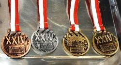 Medale Piątki 2017/2018